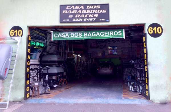 Casa dos Bagageiros e Rack